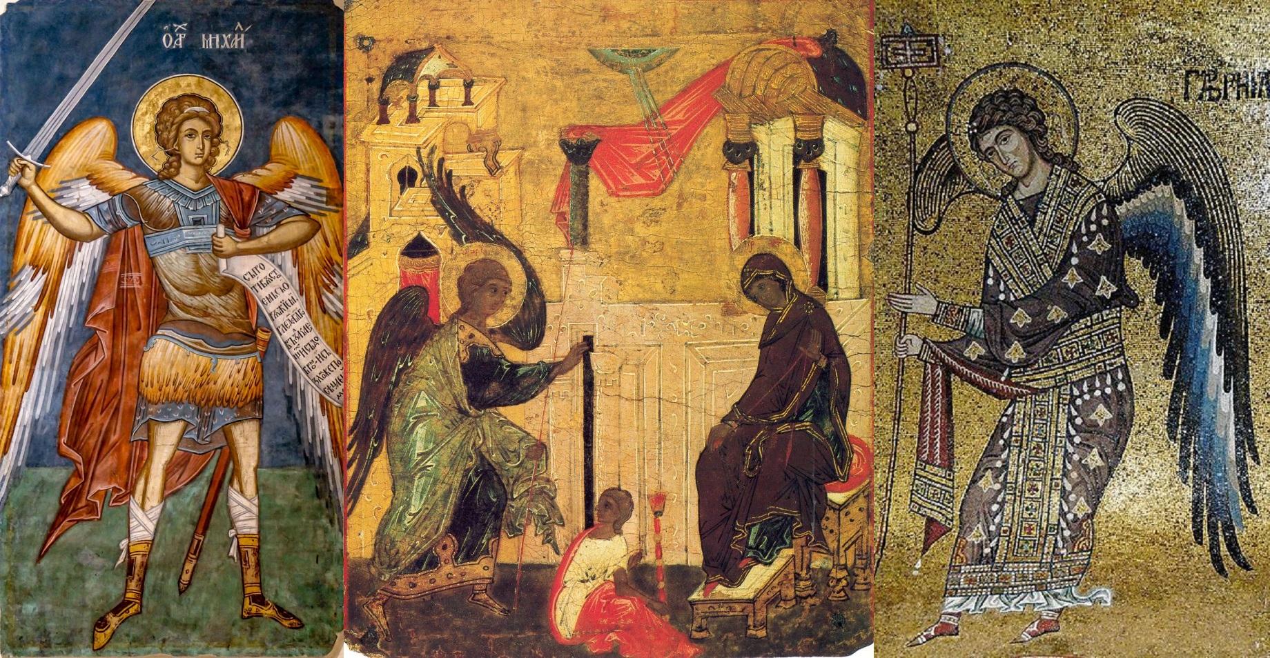 La Mulți Ani tuturor purtătorilor numelor Sfinților Arhangheli Mihail, Gavriil și Rafail!