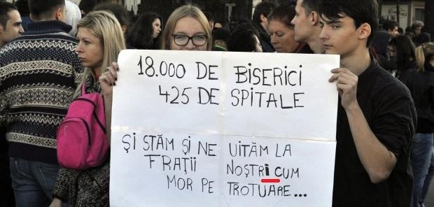 O tânără foarte cunoscută a CALCULAT cu câți bani contribuie la buget, un român,  pentru Biserică: 0,5 lei pe lună! Dragă Gigi, care te plângi,  mă deprimă infatuarea de a crede că din banii tăi se fac Catedrale