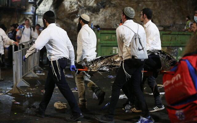 VIDEO:TRAGEDIE ÎN ISRAEL la un eveniment cu 100.000 de participanți: 44 de morți și 150 de răniți în urma prăbușirii unor gradene, în timpul unui pelerinaj care a fost transmis LIVE