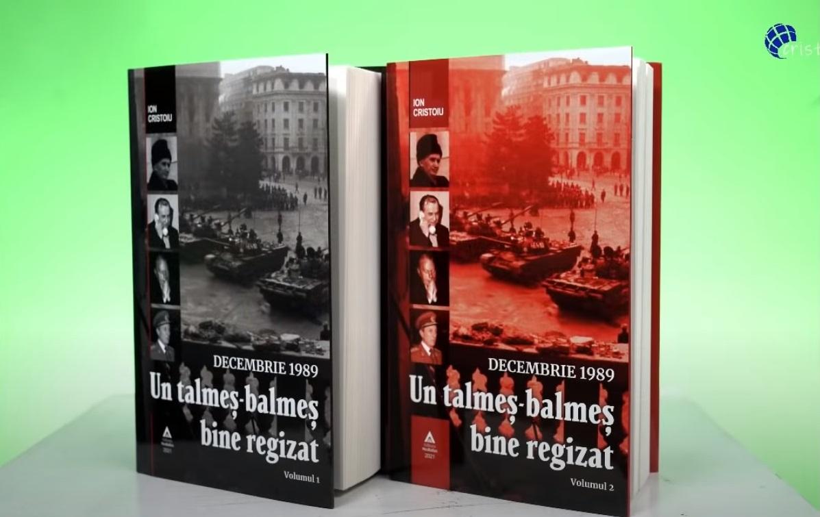 """""""Decembrie 1989. Un talmeș-balmeș bine regizat"""", noua carte semnată de Ion Cristoiu, vede lumina tiparului"""