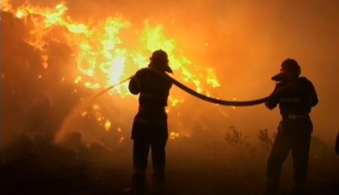 VIDEO Incendiu URIAŞ între Râşnov şi Predeal