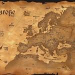 harta europa istorie