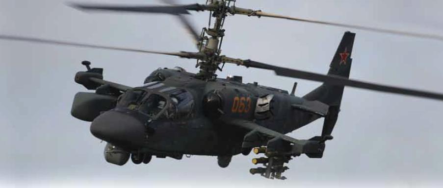 Elicoptere militare ruse în spaţiul aerian baltic