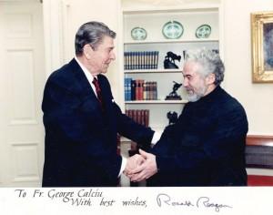 Parintele-Calciu-si-Ronald-Reagan ActiveNews.Ro