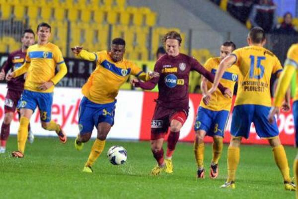 Liga 1: Petrolul – CFR Cluj 1-2