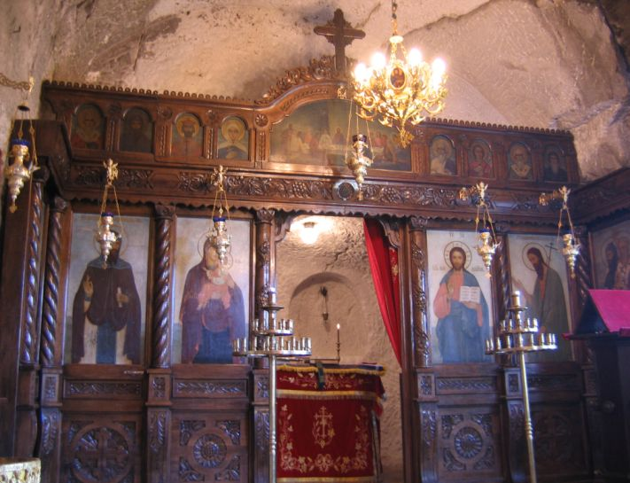 Basarabovo-Monastery-Bulgaria-Church-Iconostasis
