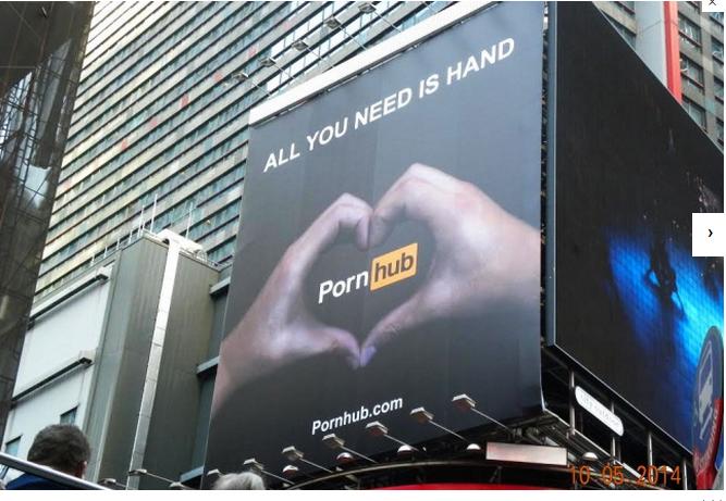 FOTO-Reclamă-ordinară-la-pornografie-și-masturbare-postată-în-mijlocul-New-York-ului