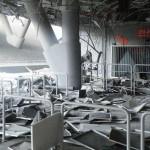 Stadionul lui Şahtior Doneţk, avariat grav în urma unei explozii