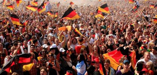 WM 2010: Public Viewing in Hamburg