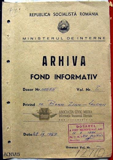 Dosar Informativ P Arsenie Boca CNSAS Civic Media Roncea Ro