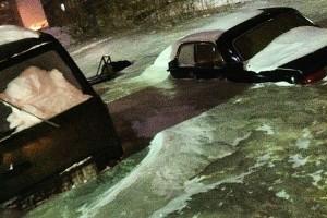GALERIE FOTO Dudinka, oraşul din Siberia înecat în gheaţă VIDEO