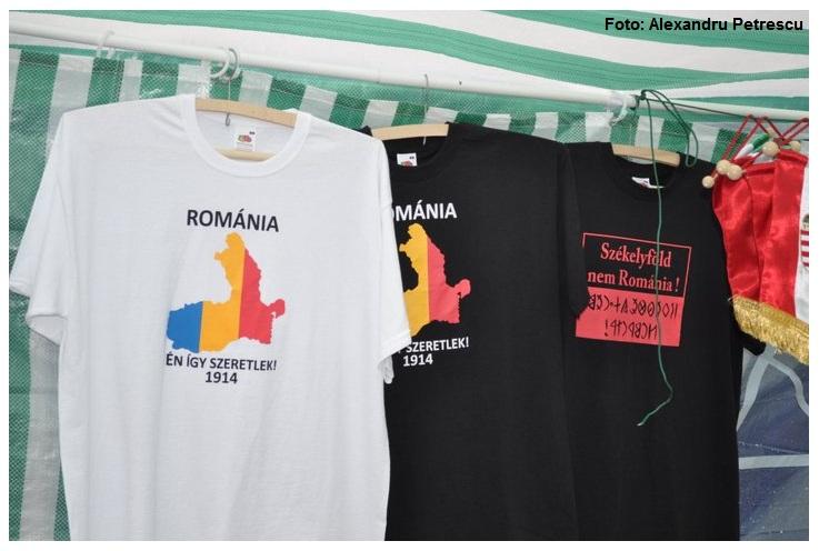 Vedere din Harghita şi Covasna: Peste tot se vând hărţi, vase, tricouri cu Ungaria Mare. Românii de aici sunt trataţi ca STRĂINI şi presaţi să plece