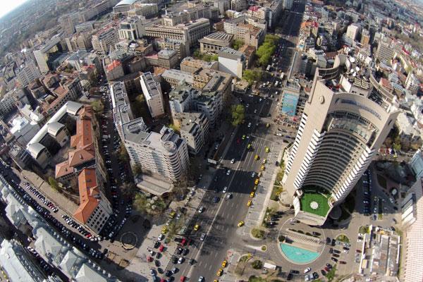GALERIE FOTO – O istorie pe verticală a Bucureştiului. Cele mai înalte clădiri din oraş