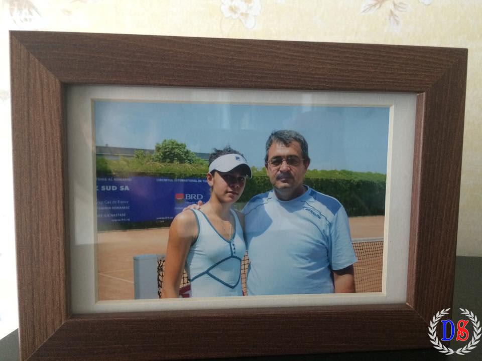 Andreea Mitu și tatăl ei