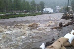 Atenționare hidrologică: Cod galben de inundații pentru râuri din centrul, sudul și vestul țării